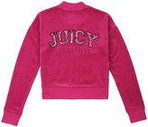 Juicy Couture Girls Logo Velour Juicy Python Westwood Jacket