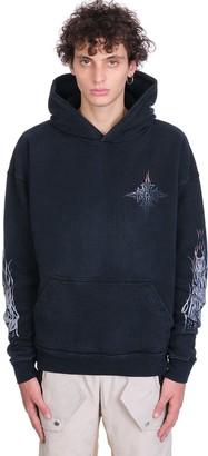 Rhude Sweatshirt In Black Cotton