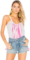 Lemlem Aden Swing Cami in Pink. - size M/L (also in XS/S)