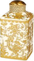 Bradburn Gallery Home 7 Golden Paisley Jar, Gold