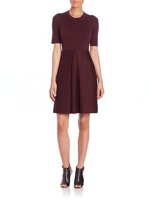 Burberry Silk-Blend Knit Dress
