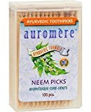 Auromere Neem Picks Ayurvedic 100 Ct Case_12