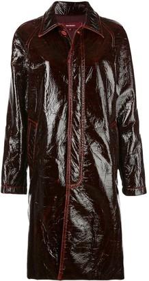 Sies Marjan Blaine laquered coat