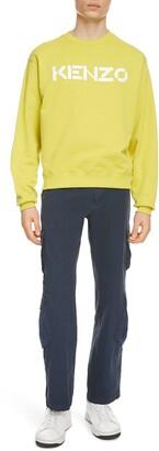 Kenzo Logo Classic Crewneck Sweatshirt