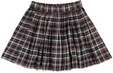 ZEF Checked Davis Skirt