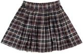 ZEF Checked Davis Skirt