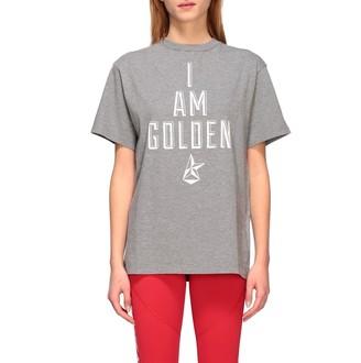 Golden Goose T-shirt Short-sleeved T-shirt With I Am Golden Print