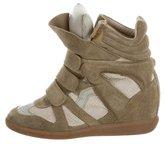 Isabel Marant Beckett Wedge Sneakers