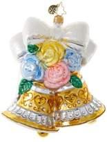 Christopher Radko Bells and Blossoms Figurine