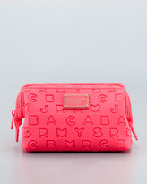 Marc by Marc Jacobs Dreamy Logo Cosmetic Case, Highlighter Flame