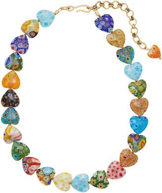 Millefiori Brinker & Eliza Higher Love Heart Necklace
