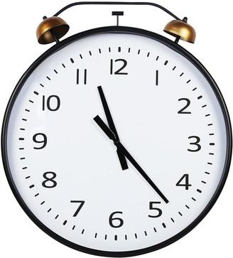 Twin Bells Wall Clock