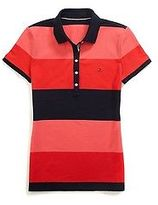 Tommy Hilfiger Women's Heritage Fit Rugby Stripe Polo