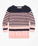 Brooks Brothers Supima® Cotton Stripe Sweater