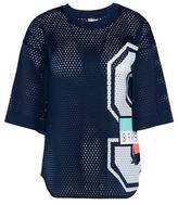 adidas by Stella McCartney Stella McCartney indigo mesh t-shirt