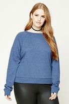 Forever 21 Plus Size Raglan Sweatshirt