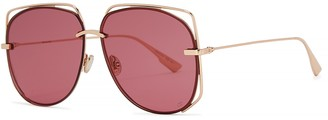 Christian Dior DiorStellaire6 Oval-frame Sunglasses