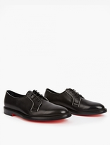 Paul Smith Black Boyd Leather Derby Shoes