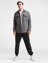DKNY Plaid Overshirt With Oversized Pockets