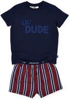 Peter Alexander peteralexander Jnr Boys Lil Dude Pj Set