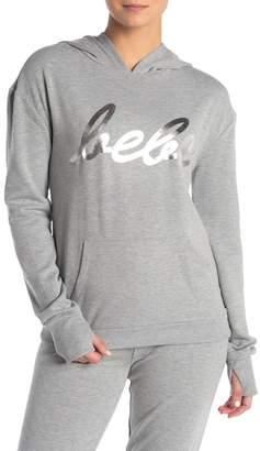 Bebe Cursive Logo Pullover Sweatshirt