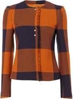 HUGO BOSS Karolie Check Long Sleeve Jacket