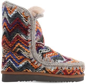 Mou 40mm Eskimo 24 Knit Boots