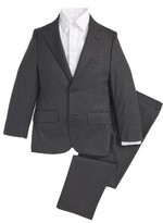 Boy's Jb Jr Screen Weave Wool Suit