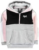 Everlast Kids Girls Quarter Zip Hoodie OTH Hoody Hooded Top Long Sleeve