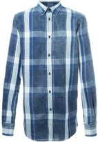 DSQUARED2 button down plaid shirt - men - Cotton - 50