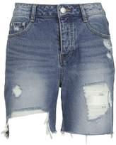 Sjyp Distressed Shorts