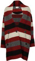 Etoile Isabel Marant Gabrie Striped Coat