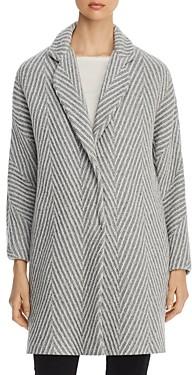 Herno Chevron Metallic Knit Coat - 100% Exclusive