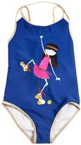 Little Marc Jacobs Skater Print Lycra Bathing Suit