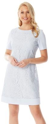 M&Co Roman Originals lace shift dress