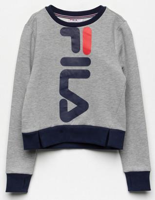 Fila Miss Mona Grey Girls Sweatshirt