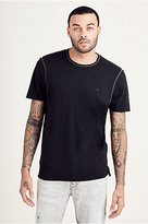 True Religion Raw Edge Mens Tee