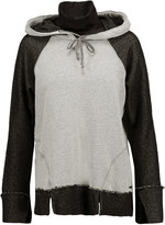 Koral Jersey-trimmed modal-blend hooded sweatshirt