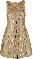 Alice + Olivia Alice+Olivia sequin embroidered mini dress