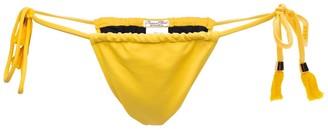 Passion Fruit Beachwear Acai Bikini Bottom - Yellow