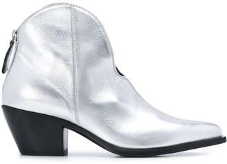 MSGM Pointed Boots