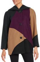 Gallery Colorblock Woolen Coat