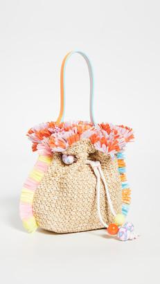 Sophia Webster Emmie Raffia Shoulder Bag