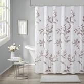 Madison Home USA Vera Burnout Printed Shower Curtain