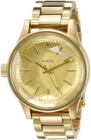Nixon Women's A409502 Facet 38 Analog Display Japanese Quartz Gold Watch