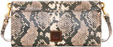 Dooney & Bourke City Python Crossbody Clutch