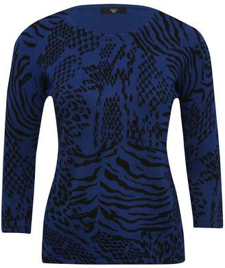 M&Co Petite animal print jumper