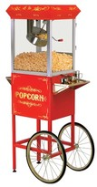 Elite Gourmet Electric Popcorn Popper - Red