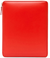 Comme des Garcons Luxury Leather iPad Case in Orange.