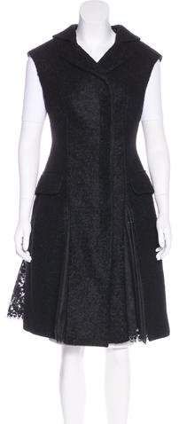 Alexander McQueen Mohair & Wool-Blend Vest
